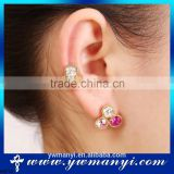 Beautiful women accessories jewelry cheap stud earring wholesale