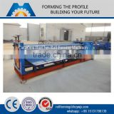 barrel aluminum corrugated roofing sheet steel plate rolling machine