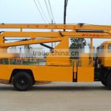 Price of vehicle mounted boom lift, vehicle mounted aerial work platform, trucks with lift arm hydraulic