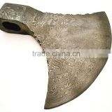 Damascus steel Axe blank blade/ Axe Head