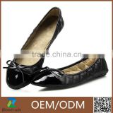 Women's flat ballerina shoes, fashionable and comfortable, various colors made in China