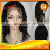 Hot selling 100% Unprocessed Full Lace Wig & Front Lace Wig Remy Indian Virign Human Hair Wigs For Black Women In Stock
