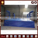 2015 Fighting equipment boxing platform high quality used boxing ring for sale