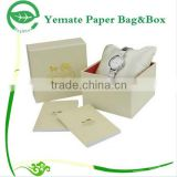 custom luxury printed art paper coated paper cardboard watch presentation packaging box, watch display box