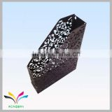 Black bird red flower single line hanging file metal file racks in zhejiang factory
