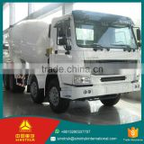 Chinese Products Wholesale 8X4 concrete mixer truck for sale / left/right hand driving concrete mixer truck water pump