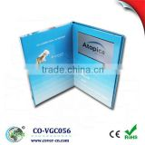 high quality 7 inch LCD USB video greeting card TFT Mp4 video displayer video card for invitation