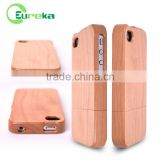 Bamboo wooden cell phone case for IPhone 4
