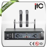 ITC T-522UH 32 Groups Freq Range Dual-channel Professional UHF Wireless Microphone System