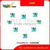High quality Bizhub C220 280 drum chip for Konica Minolta