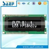 White Color 16*2 OLED Display 1/16 duty i2c interface oled display