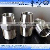 cheap cnc machining parts brass tube fitting service