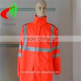 2016 hot sale in Amerian reflective jacket with high visibility tape conform to ANSI/ISEA 107-2010 CLASS 3