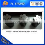 Epoxy Resin Coating PC Strand for Construction Material