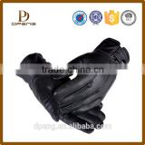 Custom Touch Screen GENUINE Soft Leather men Winter Driving gloves                                                                         Quality Choice