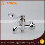 Classic single lever square brass wash basin water tap