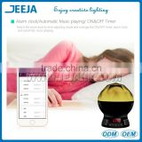 Desk Lamp And Alarm Function Bluetooth Speaker with LED Light
