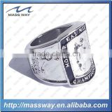 customized 3D zinc alloy engraved women men national championship ring                                                                         Quality Choice