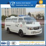 Chinese gasoline transport type ambulance for sale