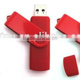 colorful 16gb-128gb rotation micro usb Otg flash drive for extend capacity