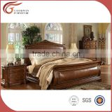 Expensive Bedroom Furniture Royal Villa Furniture Set oak Color Adult Bedroom Set A03.1