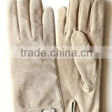 2013 Special Style Ladies Suede Leather Gloves