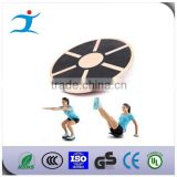 Round balcance wood plate for fitness