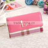 Hot Korean style fashion square purse , leather wallet ,women purse alibaba china direct factory
