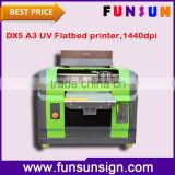 High quality and cheap price Multi-function A3 UV flatbed printer for printing phone case