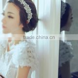 Crystal Bling Rhinestone Dress Belt or Head Accessory Bridal Sash R8026