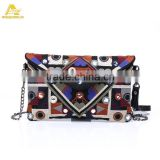 Handmade Ladies Purse Mirror Embroidery Boho Ethnic Evening Vintage Clutch Bag Manufacturer