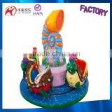 Cheap wholesale small carousel 3 seats mini carousel made in china