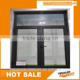 Casement Window with handle lock system