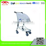 High quality collapsible foldable wheeled small luggage cart