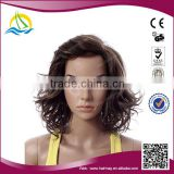 High quality High Density Synthetic kinky periwig curly wig