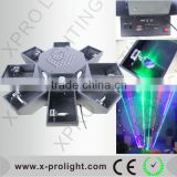 high power stage light 80W led laser light eight claw fish light made in China