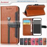 up down flip leather mobile phone cover for xiaomi redmi note mi 4 g lte