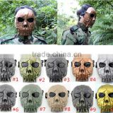 10Colors Warror Horror Military Tactical Face Shield Airsoft Paintball Army Hunting Full Face Mask