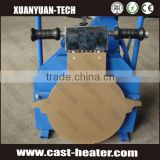 Heating Plate 315mm thermoplastic pipe butt fusion welding machine for plastic pipe welding