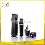 China Wholesale Factory Price Beautiful Cosmetic Packaging Fancy Black Perfume Bottle For Man