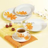 20pcs ceramic restaurant crockery hotel tableware