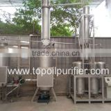 EOS tyre oil vacuum distillation machine,black oil to diesel,vacuum distillation machine