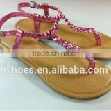 New summer flat sandals women