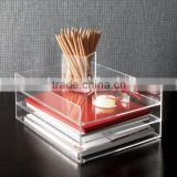 acrylic letter tray/clear acrylic files trays