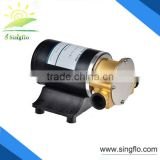 Singflo 12V 30LPM wholesale price small high flow water flexible impeller pump for marine wash deck