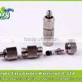 Low pressure anti drip Fog Mist Nozzle, mist cooling nozzle. Brass nozzle. Mist cooling products