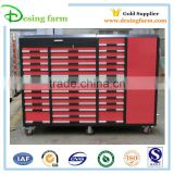 Heavy duty steel tool drawer cabinet with wheel for sale