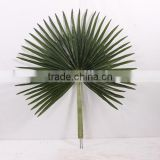 Decorative artificial palm leaves fake palm leaf factory Fire proof/UV Resistant indoor/outdoor