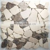 High Quality Marmor Bruch Mosaic Tiles For Bathroom/Flooring/Wall etc & Best Marble Price