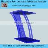 Hot Selling Acrylic Lectern,Curved Acrylic Perspex Lectern Podium